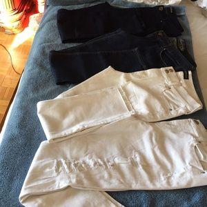 Express jeans leggings